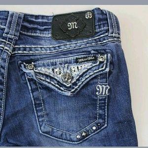 Women's MISS ME Skinny Jeans Size 27x30 JE544052R